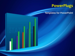 PowerPoint Template - Business Statistics Concept